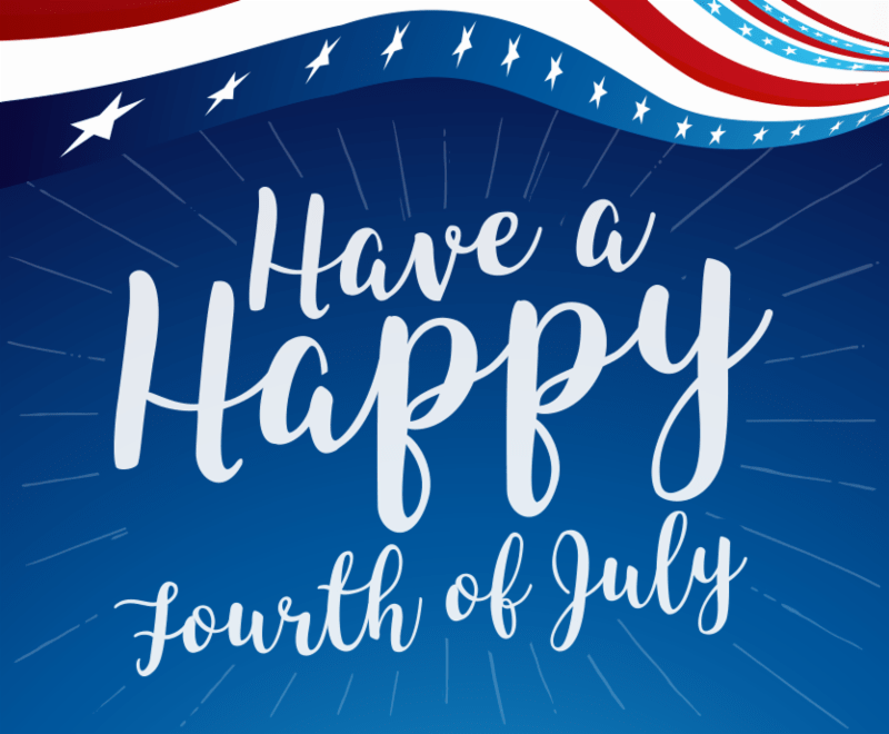 Celebrate July 4th with the JULY Newsletter!